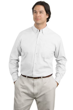 Port Authority® TLS608 Tall Long Sleeve Easy Care ...