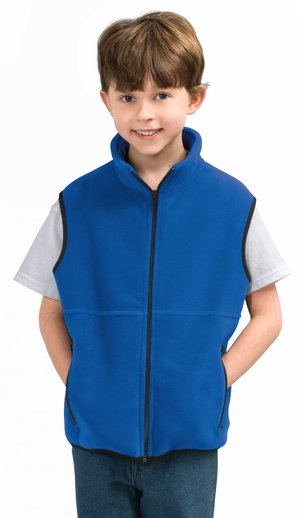 Port Authority® YJP79 Youth R-Tek® Fleece Vest