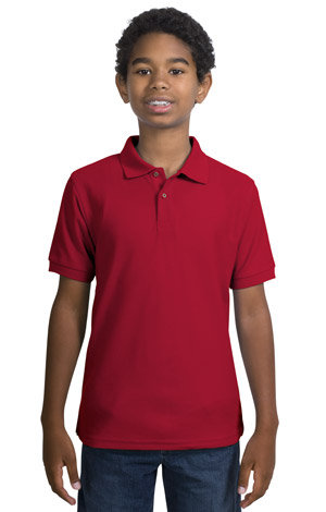 Port Authority® Y500 Youth Silk Touch™ Polo