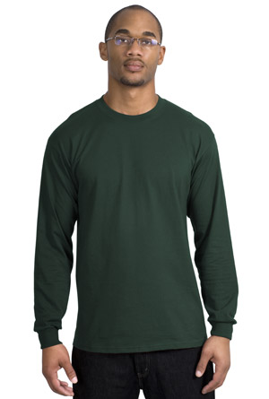 Port & Company® PC61LS Long Sleeve Essential T-Shirt