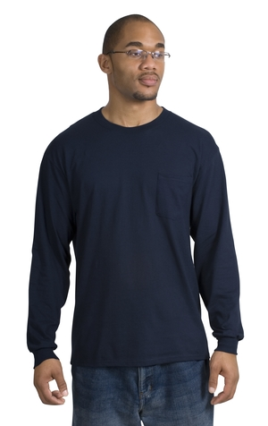 Port & Company® PC61LSP Long Sleeve Essential T-...