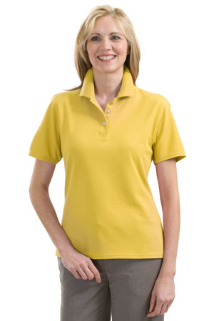 Red House® RH32 Ladies 100% Organic Cotton Pique Polo