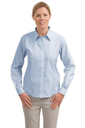 Red House® RH42 Ladies Fine Line Non-Iron Button-Down Shirt