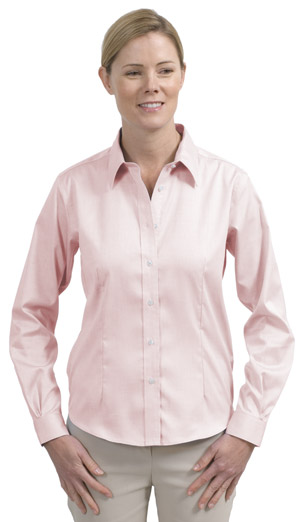 Red House® RH25 Ladies Non-Iron Pinpoint Oxford