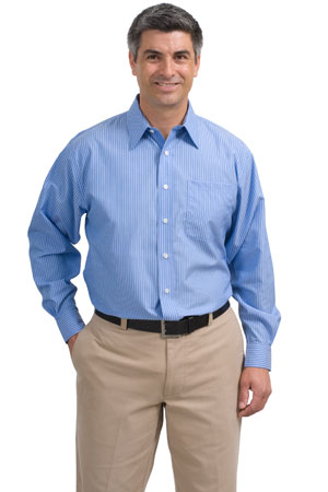 Red House® RH21 Stripe Non-Iron Button-Down Shirt
