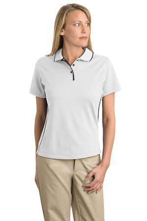 Sport-Tek® L467 Ladies Dri-Mesh® Polo with Tipped ...