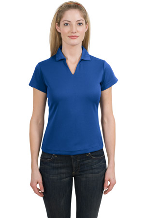 Sport-Tek® L469 Ladies Dri-Mesh® V-Neck Polo