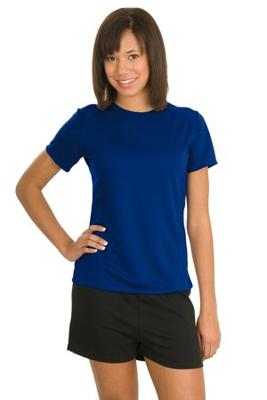 Sport-Tek® L473 Ladies Dry Zone™ Raglan Accent T-Shirt