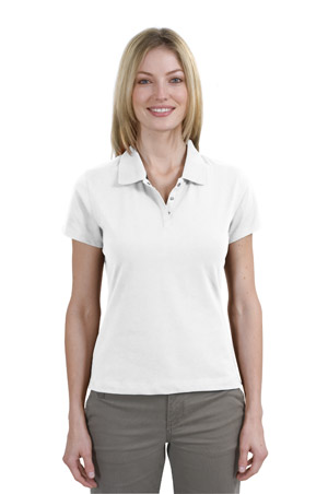 Sport-Tek L303 Ladies Pima-TekSport Shirt.