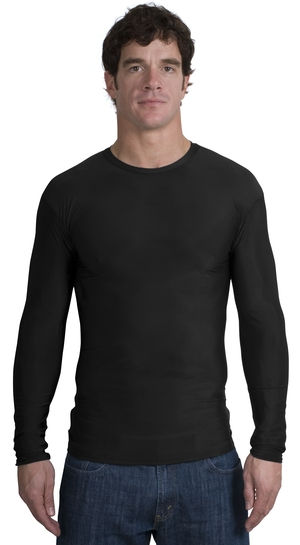Sport-Tek T255 Long Sleeve Compression T-Shirt.