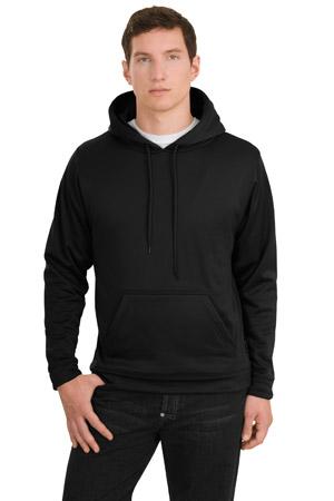 Sport-Tek® F244 Sport-Wick® 磨毛布连帽套衫罩衫