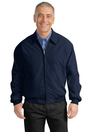 click to view Bright Navy/Solid Pewter Lining