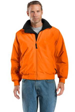 click to view Safety Orange/Black