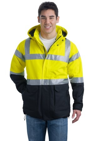 click to view Safety Yellow/Black/Reflective