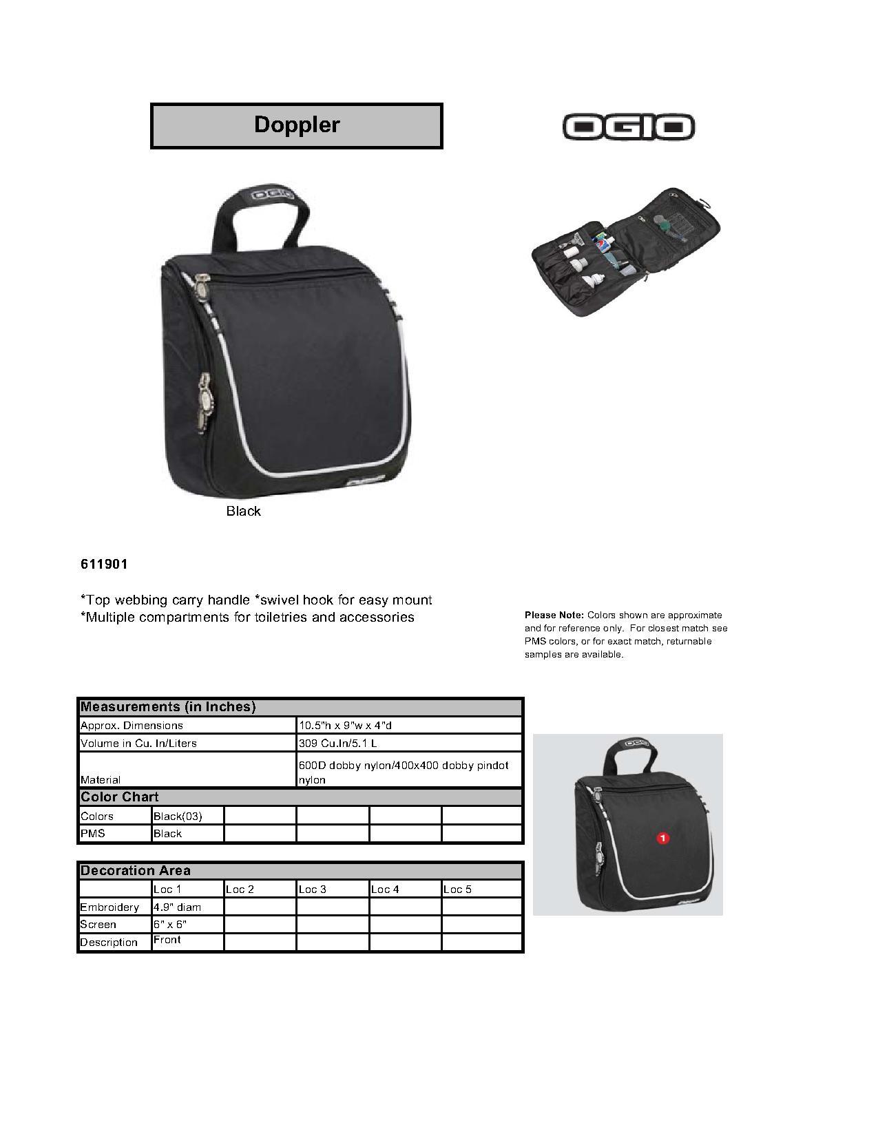 OGIO® 611901 Doppler Kit - Accessories 822425f7d5