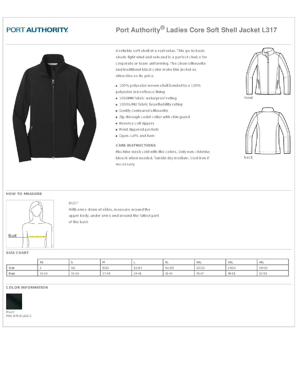 Port Authority Soft Shell Jacket