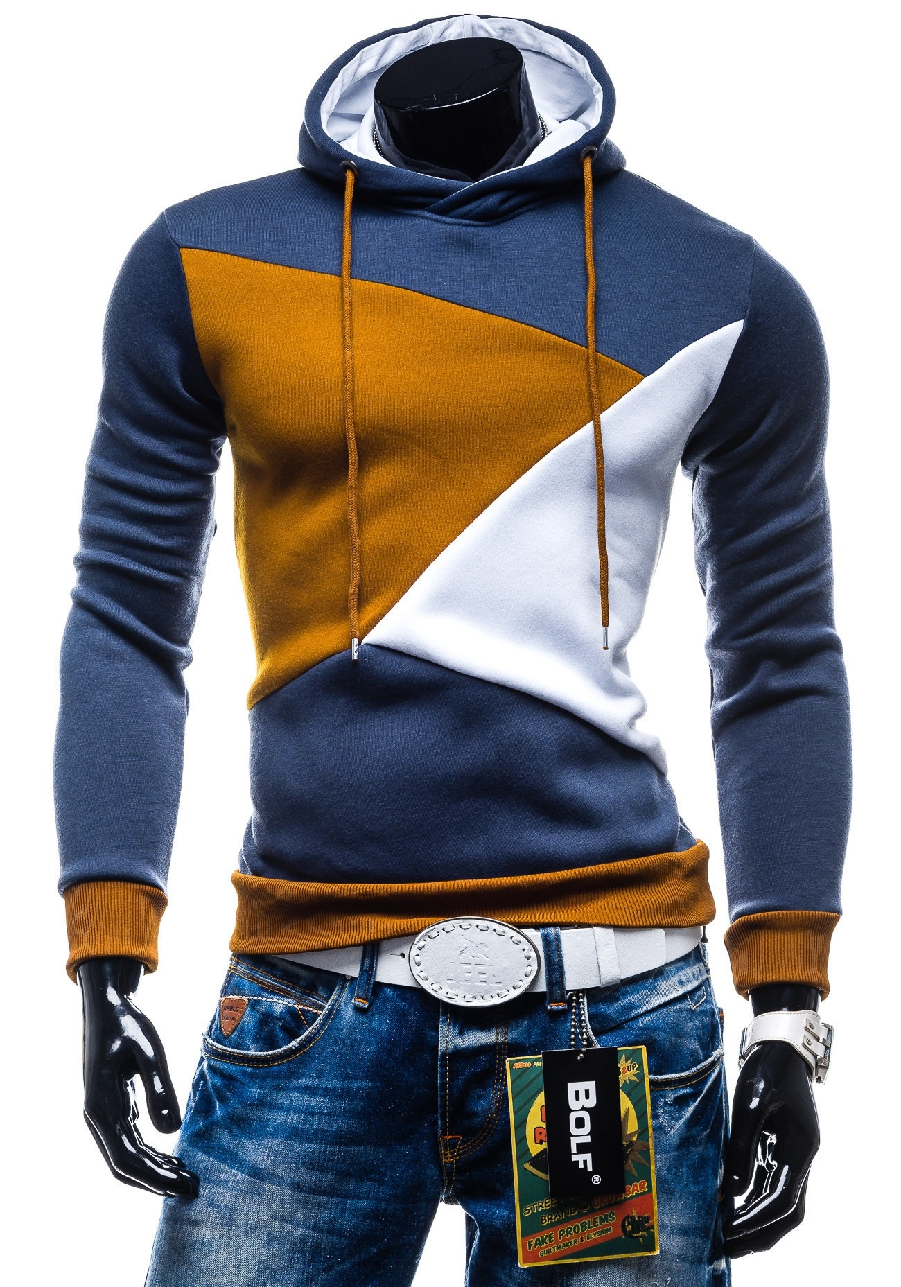colorful sweatshirt colorful hoodies for men fashion ql 1167