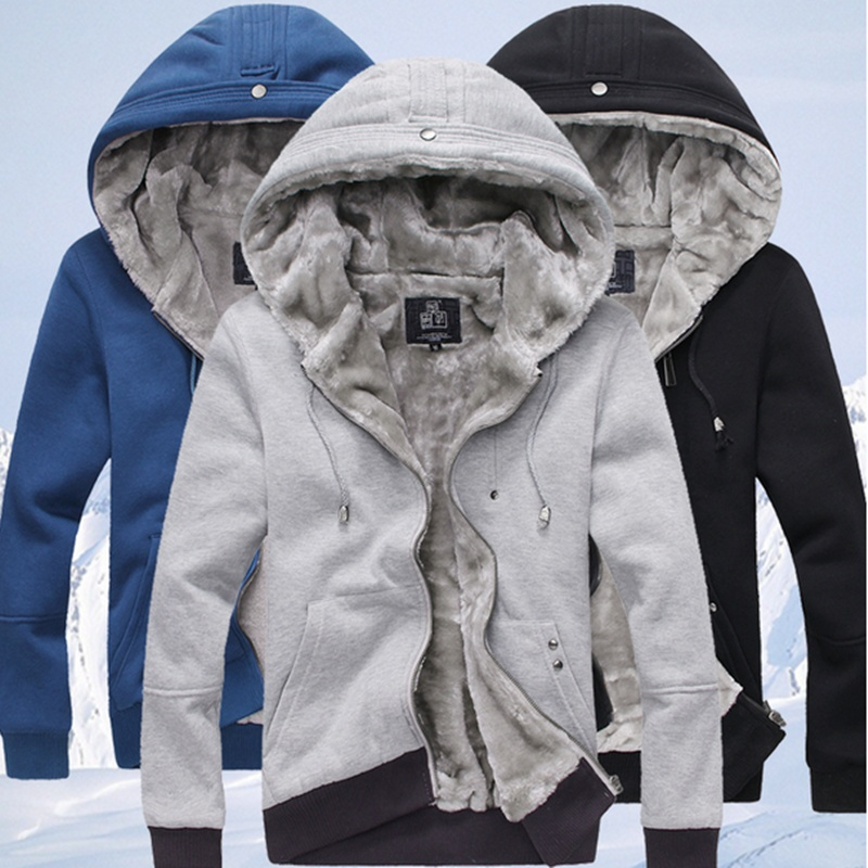Add new men's Cashmere Sweater Hoodie, casual, fashion ...