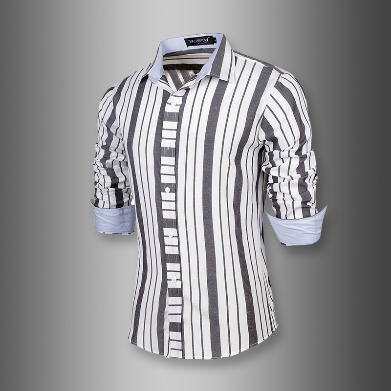 business men's shirt gentleman monochrome bar 7610