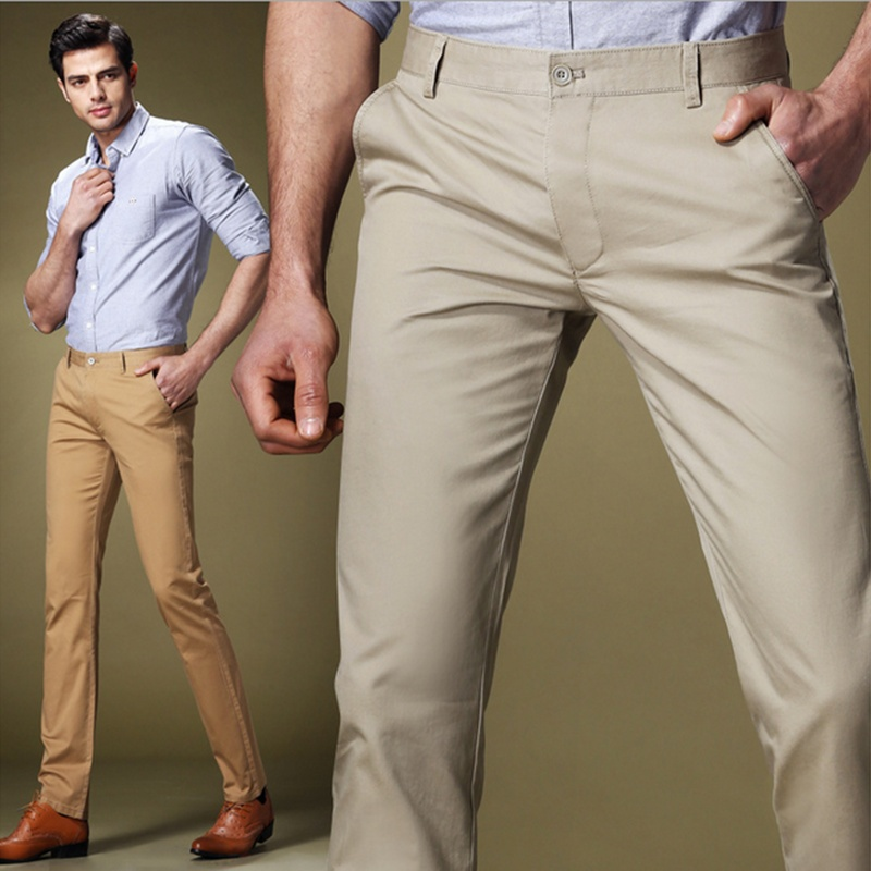 Casual Straight Slim Long Men's Pants