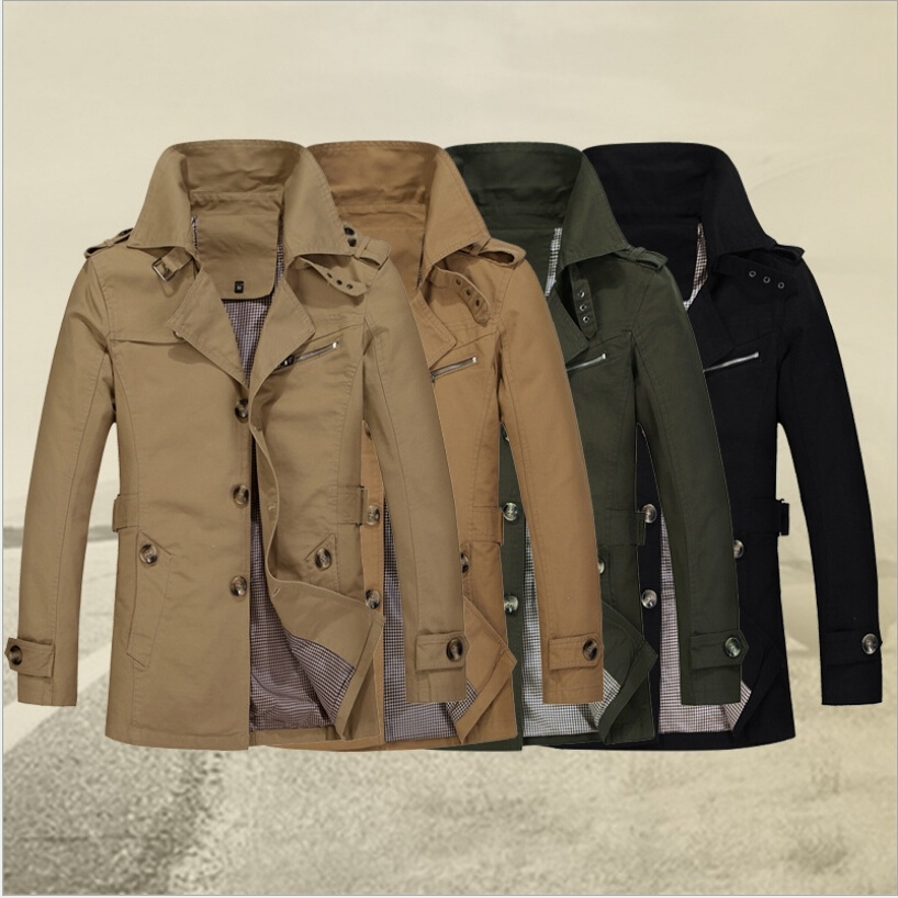 Cotton men's new autumn and winter coat jacket big yards ...