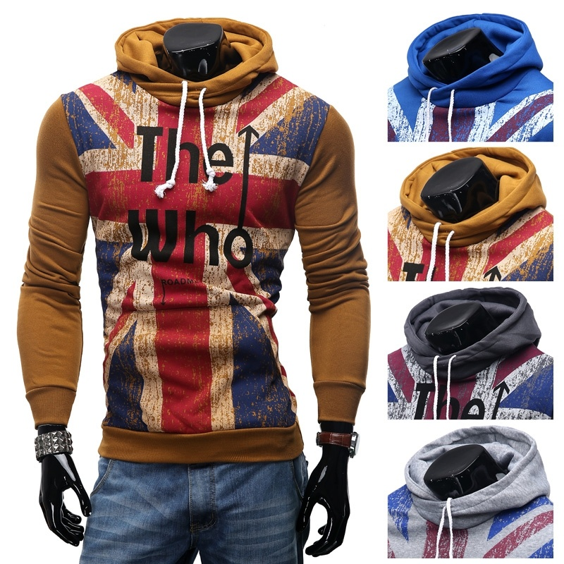 Fashion Casual Hooded Sweater Coat for Men