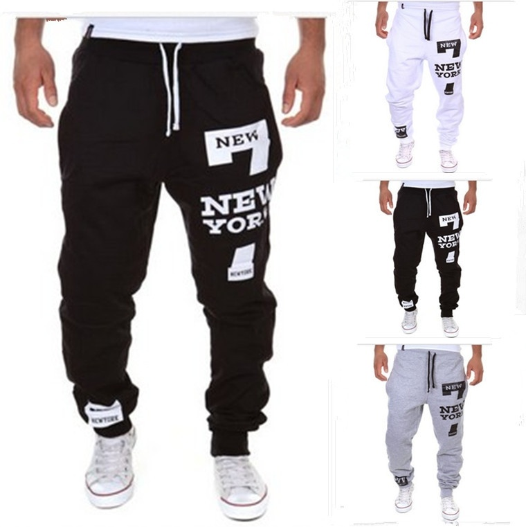 fashion shorts 7 digital printing letters upon men's ...
