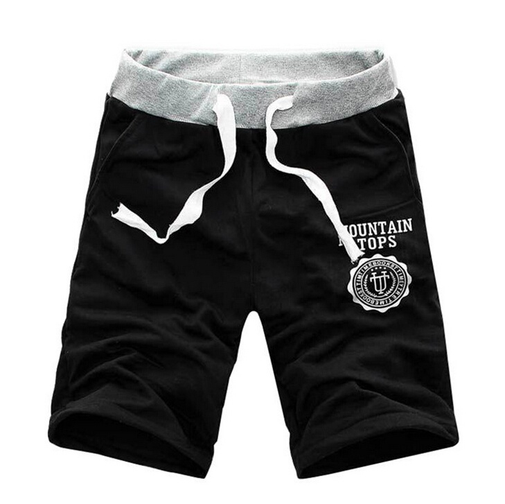 HOT Men's Cotton Shorts Pants Gym Trousers Sport Jogging ...