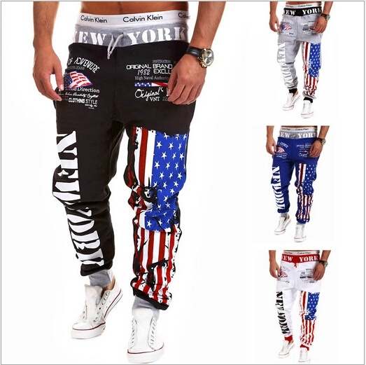 male rock casual pants board brand fashion sports men ...