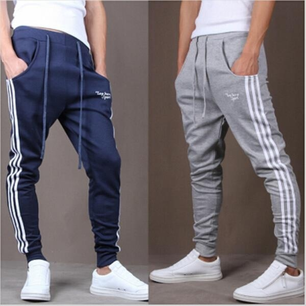 men's Fashion Designer Trousers Sweatpants, Men Casual ...