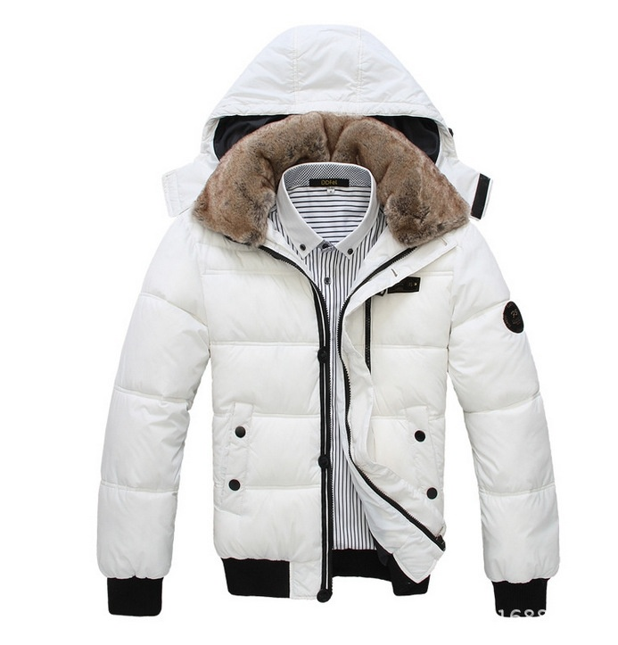 Men's thick winter new Nagymaros collar down jacket ...