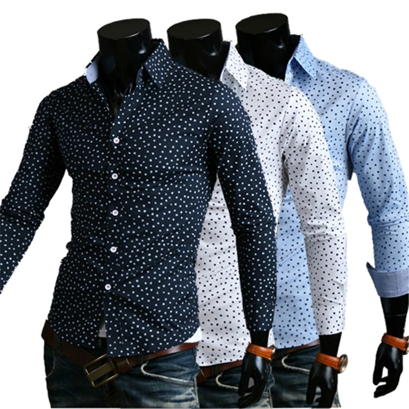 New fashion Casual Korean version of the dot printing ...