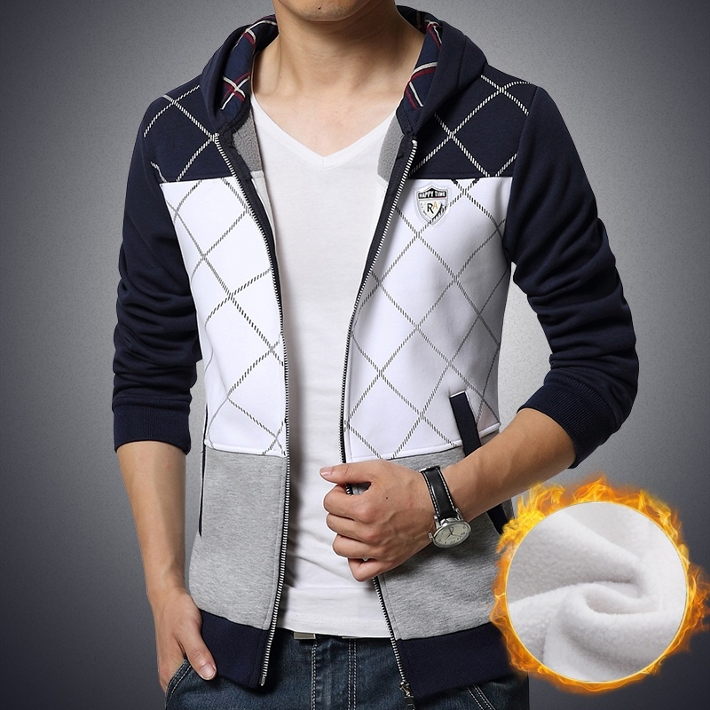 Quality Men's Slim Fit Hoodies Jacket
