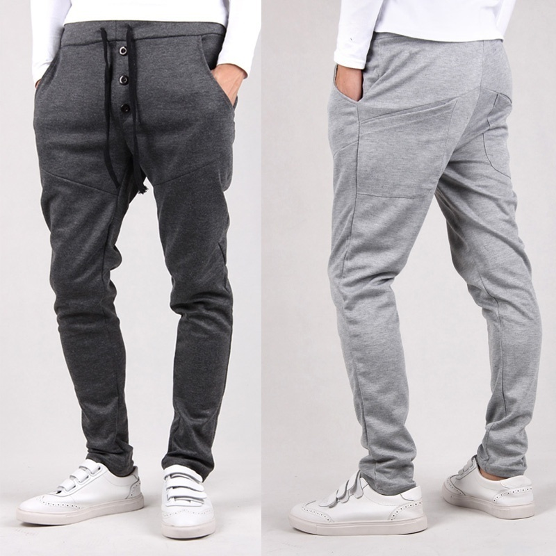 style fashion mens pants hip hop sports harem pants ...
