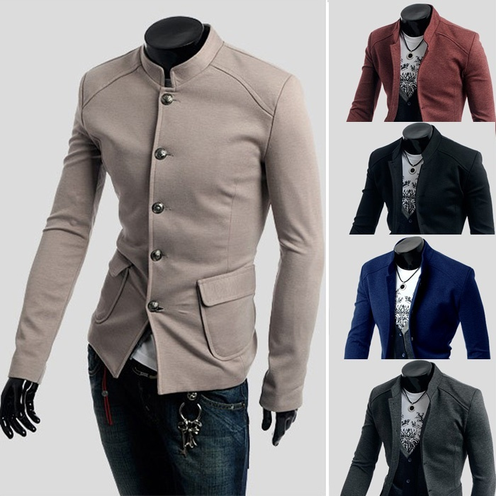 Suit Jackets men blazer slim fit new arrival Korean ...