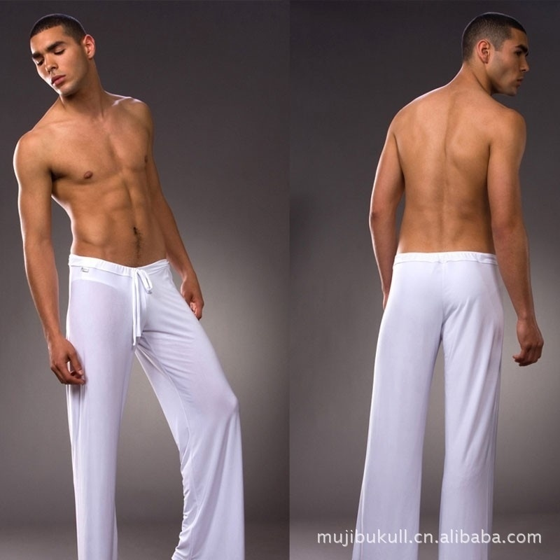 The man Home Furnishing pants yoga clothes pants soft ...