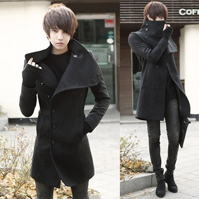 Winter explosion of men's fashion personality cultivation ...
