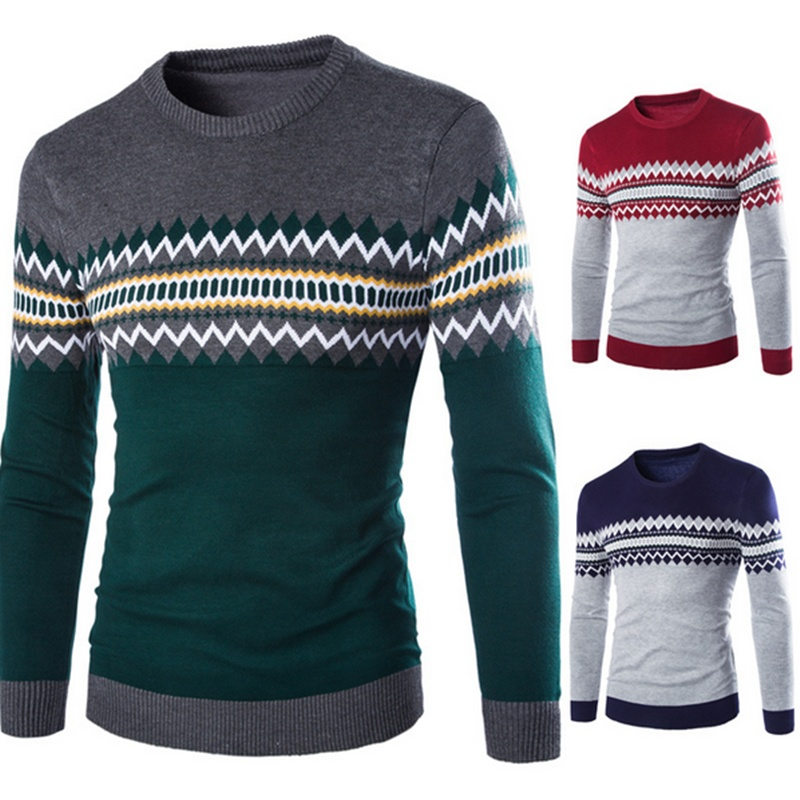 winter men's casual fashion  sweater