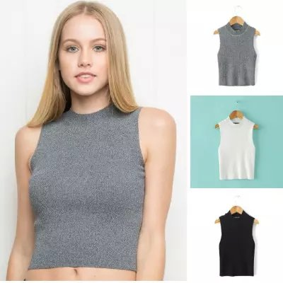 American Fashion women Knitted sexy off shuolder Turtleneck ...