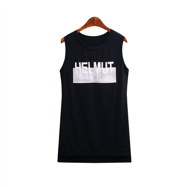 Fashion Women Elegant black Letter print T-shirt basic ...