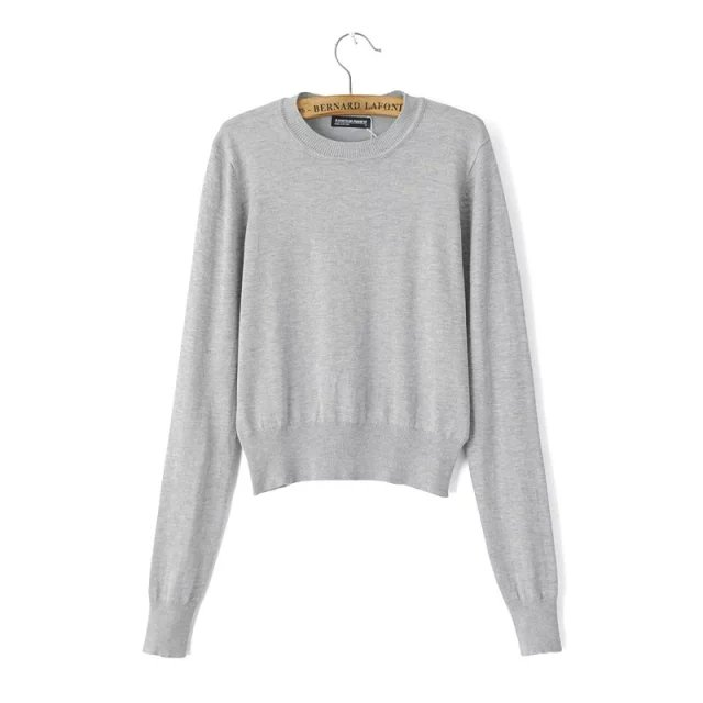 Knitted sweaters for Women American Appearl Basic Fashion ...