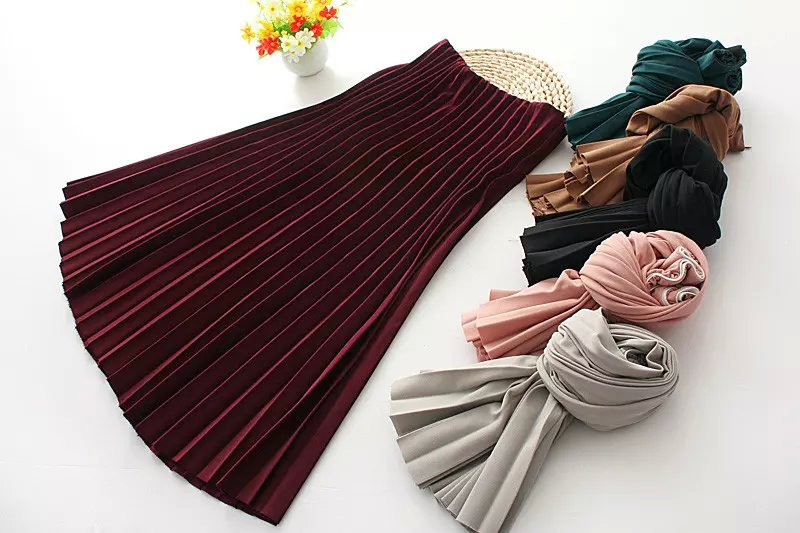 Spring Fashion women elegant vintage chiffon wine red ...