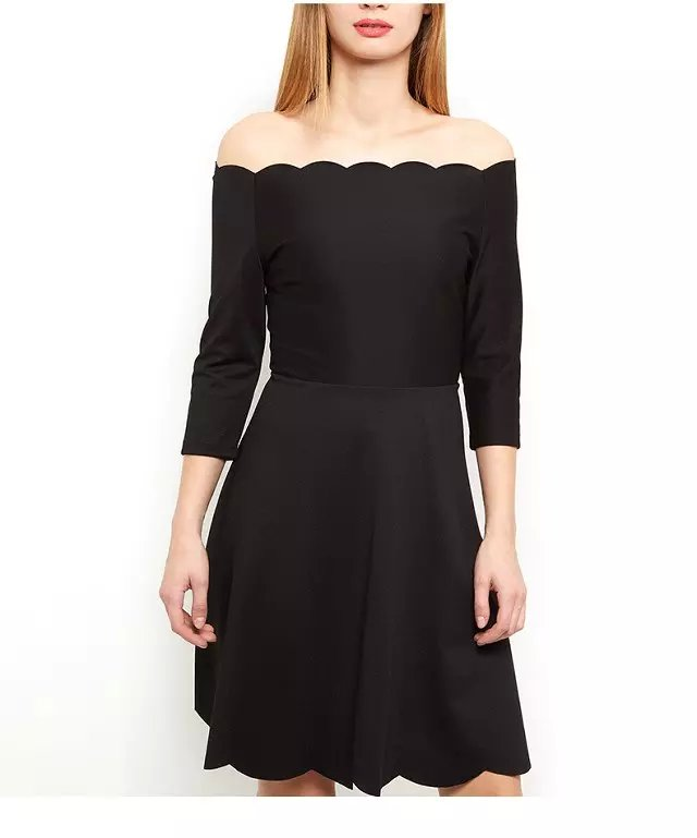 American Fashion women elegant sexy black mini Dress ...