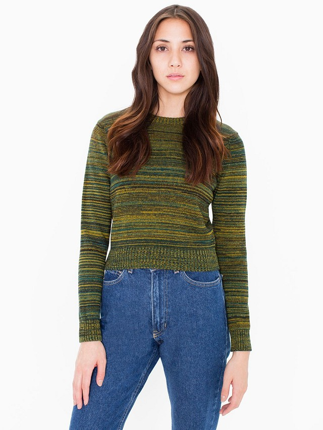 American Style Knitted short sweaters for women winter ...