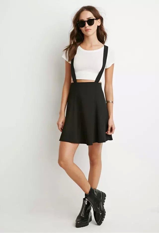 Autumn Fashion School style Women Elegant classic black ...