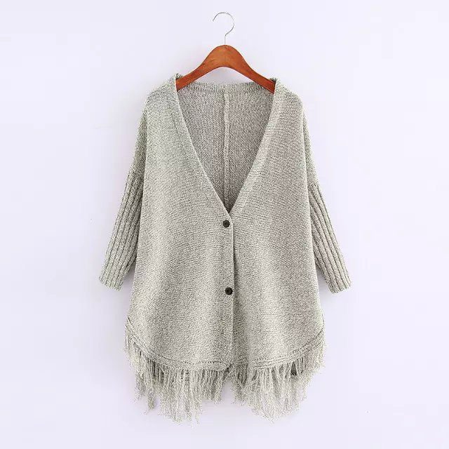 cardigan for female Fashion Elegant Knitted Cardigan ...