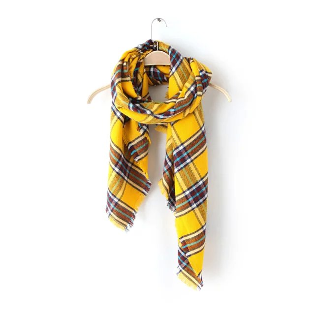 Fashion England Style Scarves & Wraps Adult Acrylic ...