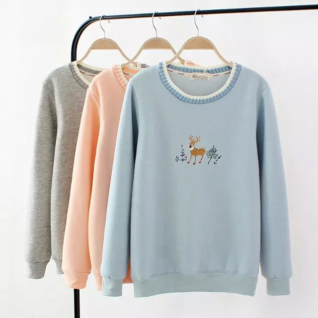 Fashion women elegant Autumn thick Knitted neck Deer ...