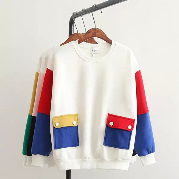 Fashion Women winter thick school style white Color ...