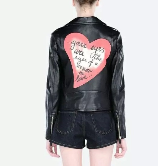 Faux leather jacket for Women Fashion Punk style Cool ...